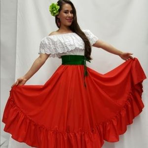Dresses & Skirts - Dress Folklorico